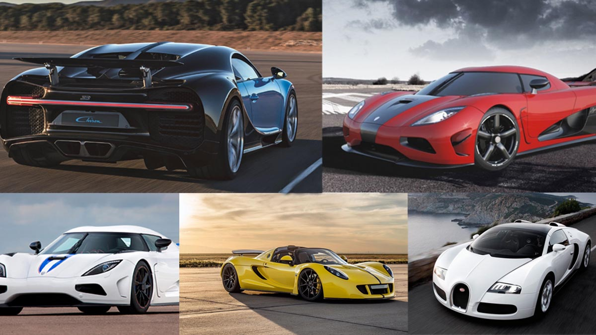 top 5 fastest cars in the world glocar blogs. Black Bedroom Furniture Sets. Home Design Ideas