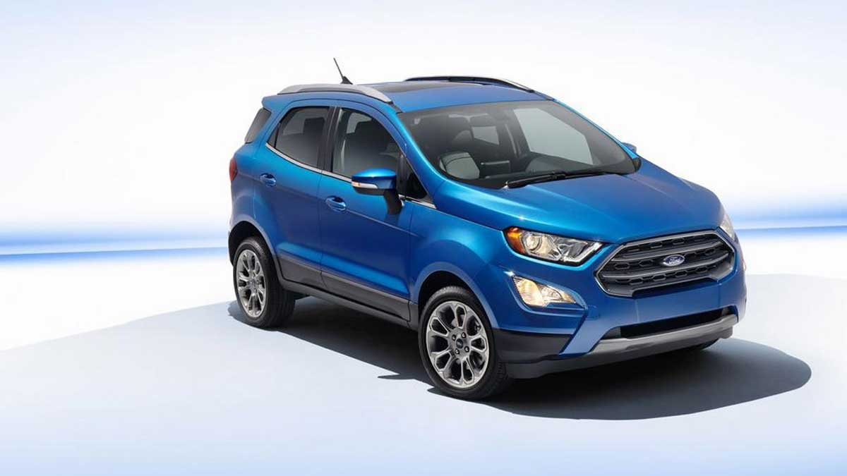 Ford Ecosport Facelift To Launch On November