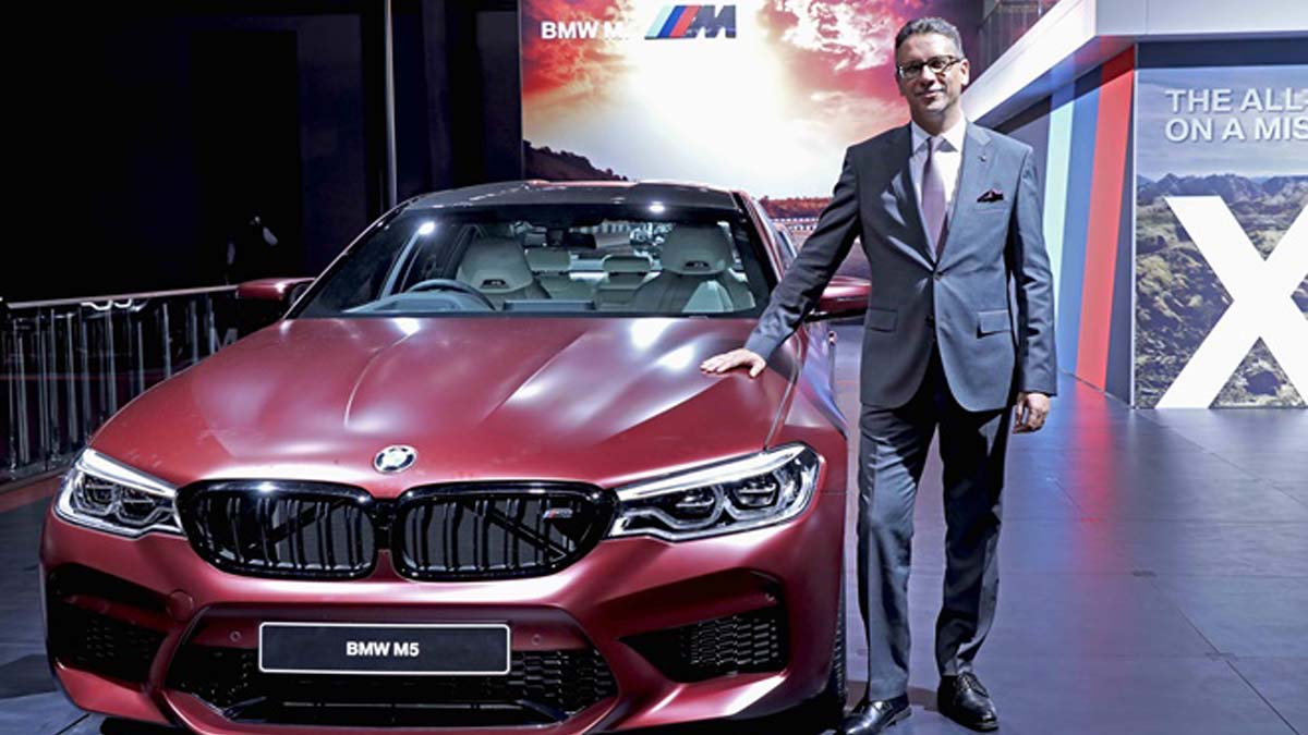 BMW Launched A Range Of Cars At Auto Expo Glocar Blogs - Bmw car show 2018