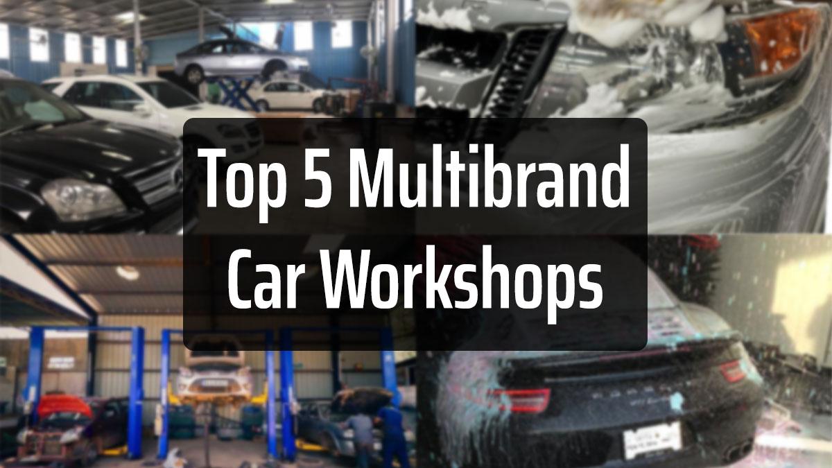 Top 5 Multi Brand Car Workshops In Delhi Ncr Glocar Blogs