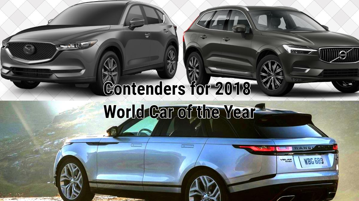 top 3 world car of the year finalists announced at geneva motor show