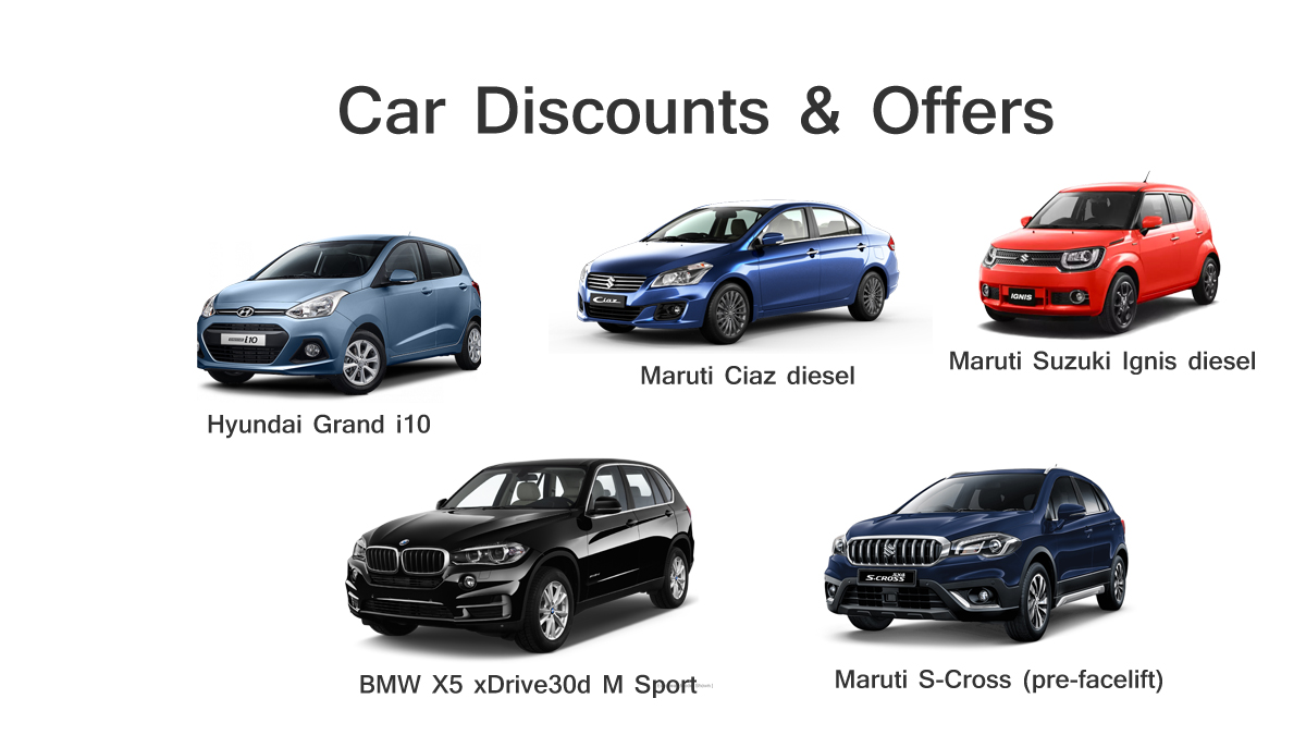 New Car Discounts In March And April 2018 Hatchback Sedan And Suv