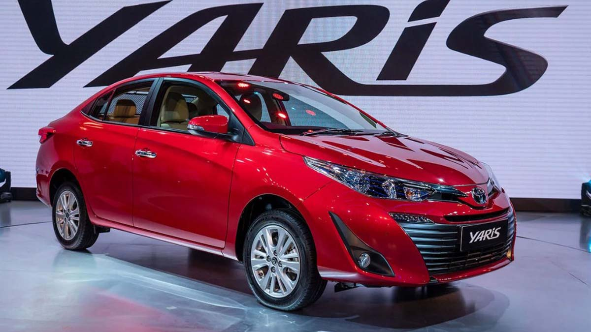 2018 toyota yaris sedan dimensions engine features launch date and price glocar blogs. Black Bedroom Furniture Sets. Home Design Ideas